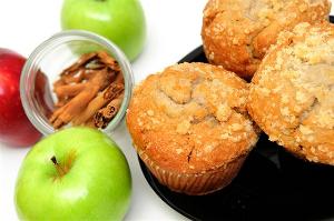 рецепт приготовления маффины с яблоками