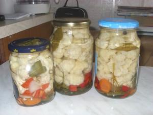 Цветная капуста рецепты маринованная на зиму