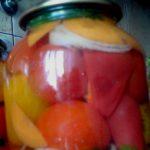 Консервирование помидоров ассорти
