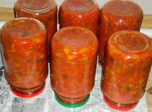 Рецепт приготовления лечо из баклажанов