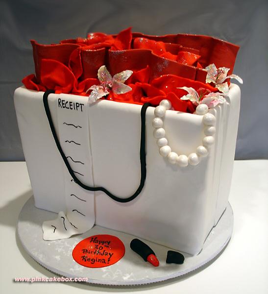 Торты на день рождения сумочки