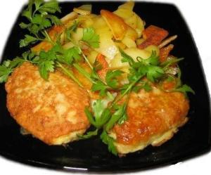 рецепт приготовления рубленых куриных котлет
