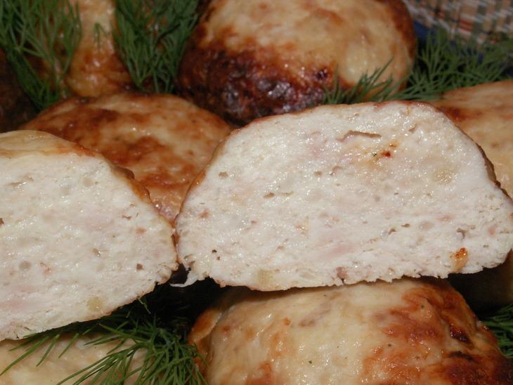 рецепт приготовлнеия куриных котлет в духовке