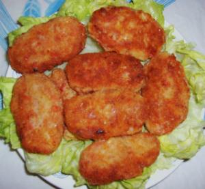 рецепт приготовления рыбных котлет из трески