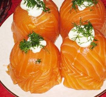 лосось с сыром