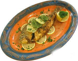 рецепт приготовления Рыба по-мароккански