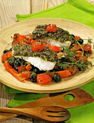 Рецепт приготовления Рыба с чермулой