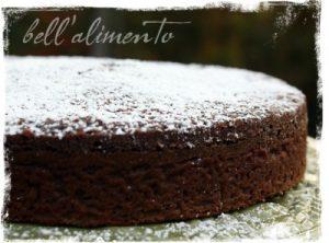 Сладкий пирог с какао