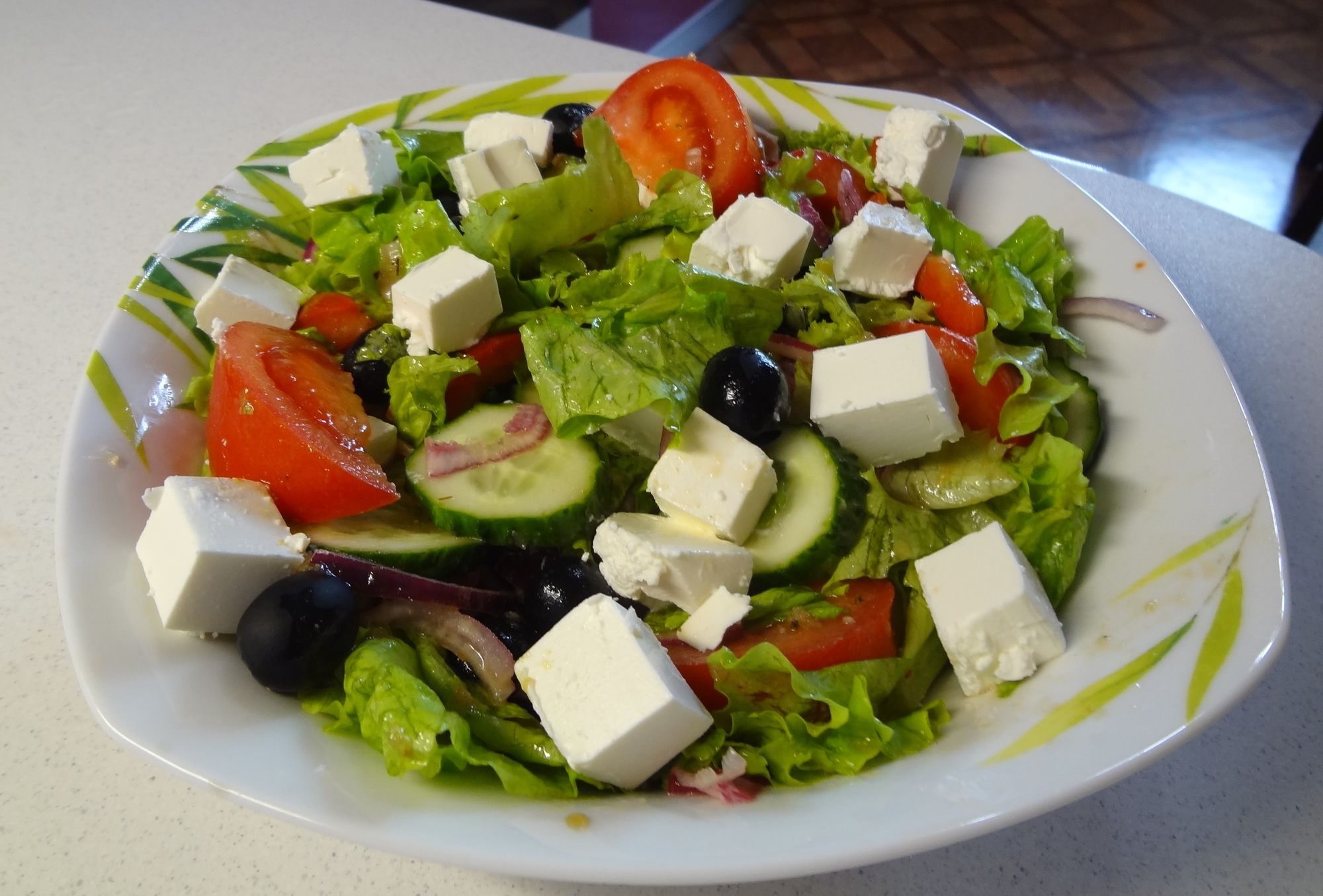 Рецепты греческого салата с фотографиями