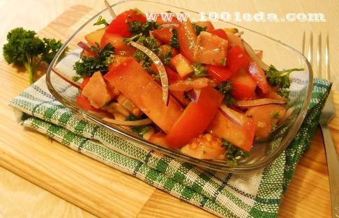 Как приготовить салат греческий рецепт с пошаговыми 7