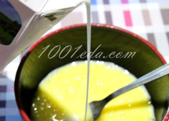 Омлет с молоком на сковороде, пошаговый рецепт с фото