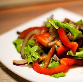 без майонеза мяса рыбы овощей Салаты-из и