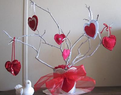 Дерево своими руками на день влюбленных