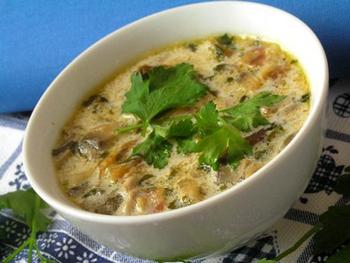 Грибной суп в мультиварке рецепт