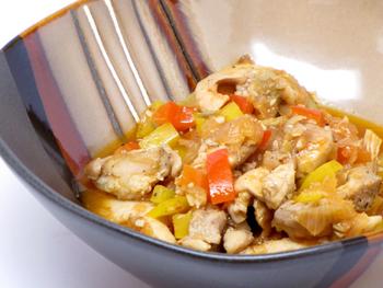 Курица, тушенная с овощами рецепт с фото пошаговый Едим 13
