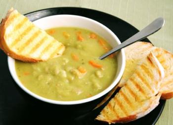 рецепты гороховый суп с курицей рецепт
