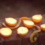 Цитрусовые свечи своими руками