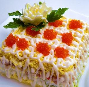 Красочный салат