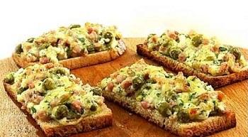 Как сделать вкусный горячий бутерброд в духовке 91