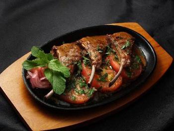 Блюда из бараньей корейки