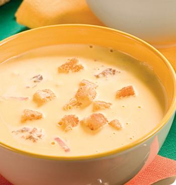 приготовление сырного супа рецепт фото