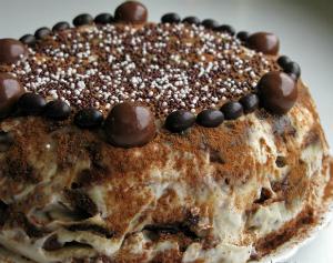 Пряничный торт без выпечки пошаговый рецепт
