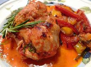 рецепт курица с гарниром мультиварка