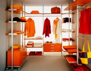 эксклюзивные гардеробные комнаты