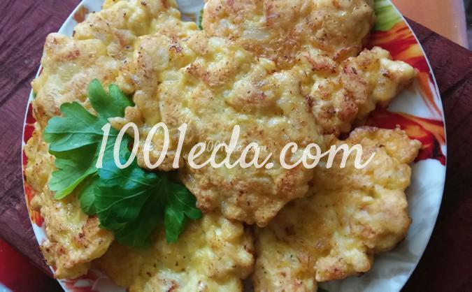 вкусный рецепт куриных котлет с сыром с фото