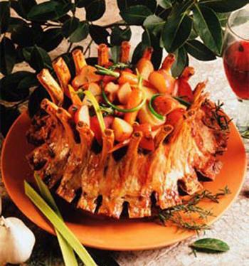 Блюда из ребер баранины рецепты