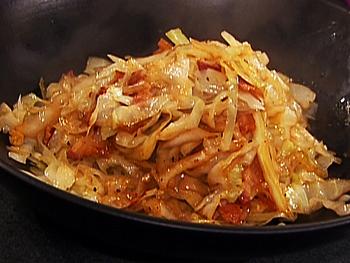 рецепт капусты с мясом
