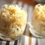 Быстрый салат с курицей и грушами