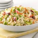 Весенний салат из молодой капусты