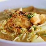 Суп с лапшой на курином бульоне