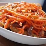 Салат из баранины и моркови