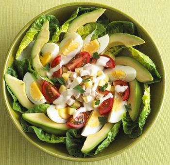 Рецепты салатов овощных