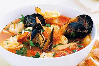 Буйабес с морепродуктами рецепт