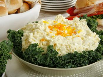 вкусный салат к пасхе
