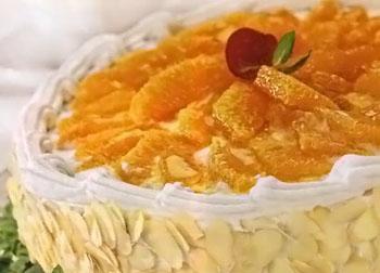 торт с апельсиновым желе