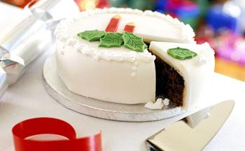 белый торт для детей