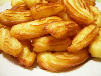 картофельные пончики рецепт