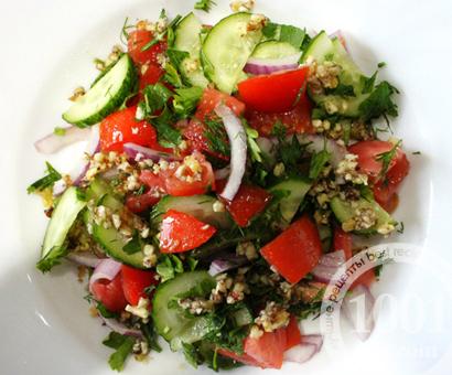 Грузинские салаты с фото
