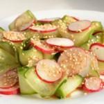 рецепт Японский салат из редиса