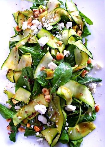 рецепты салат со шпинатом с фото