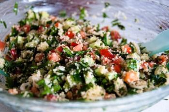 Салат с кускусом рецепт