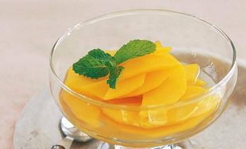 Рецепт быстрого десерта из манго