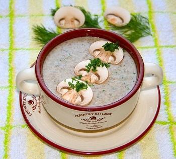 как приготовить суп молочный из грибов
