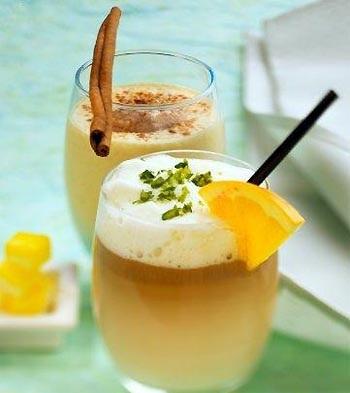 Белковый коктейль из Пепси с мускатом