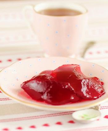 Желе из красной смородины – кулинарный рецепт