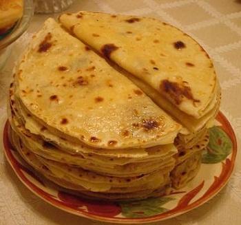 рецепт лепёшек с начинкой